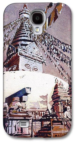 Buddhist Stupa- Nepal Galaxy S4 Case
