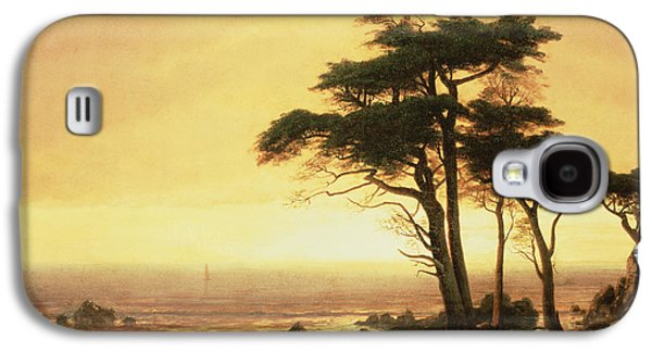 California Coast Galaxy S4 Case by Albert Bierstadt