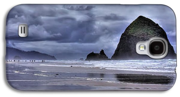 Cannon Beach Panorama Galaxy S4 Case by David Patterson