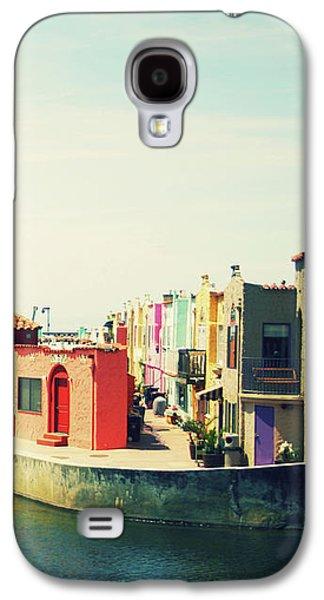 Capitola Venetian- Art By Linda Woods Galaxy S4 Case