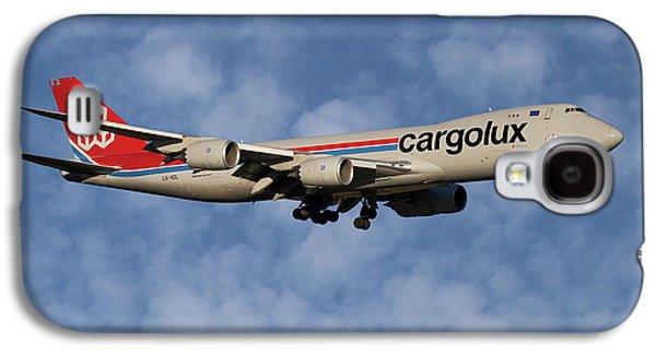Jet Galaxy S4 Case - Cargolux Boeing 747-8r7 1 by Smart Aviation