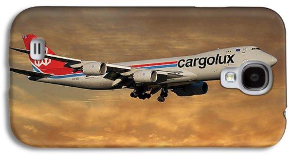 Jet Galaxy S4 Case - Cargolux Boeing 747-8r7 2 by Smart Aviation