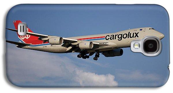 Jet Galaxy S4 Case - Cargolux Boeing 747-8r7 4 by Smart Aviation