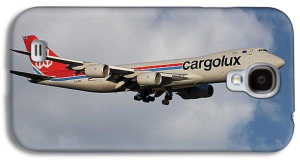 Jet Galaxy S4 Case - Cargolux Boeing 747-8r7 5 by Smart Aviation
