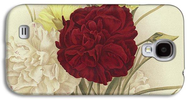 Carnations Galaxy S4 Case