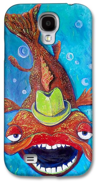 Catfish Clyde Galaxy S4 Case by Vickie Scarlett-Fisher