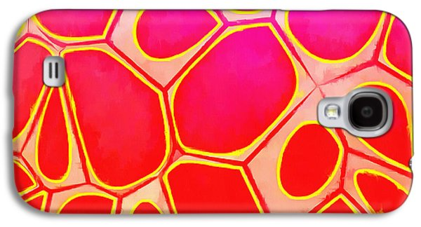 Galaxy S4 Case - Cells Abstract Three by Edward Fielding