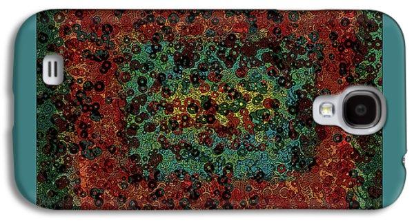 Chaos Galaxy S4 Case by Bonnie Bruno