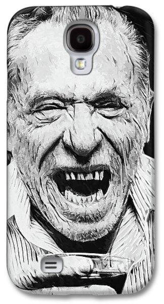Charles Bukowski Galaxy S4 Case by Taylan Apukovska
