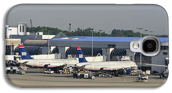 Charlotte Douglas International Airport Terminal Galaxy S4 Case by David Oppenheimer