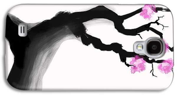 Cherry Blossom  Galaxy S4 Case by Ryan Lundy