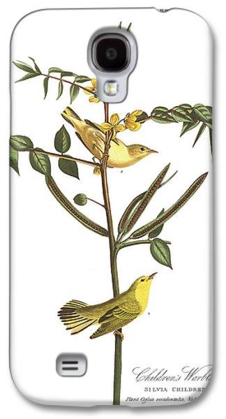 Children's Warbler Galaxy S4 Case by John James Audubon