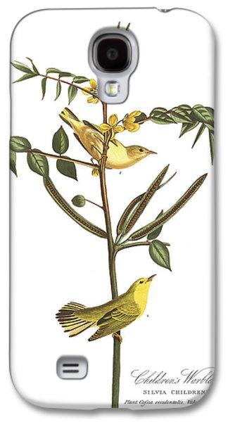 Warbler Galaxy S4 Case - Children's Warbler by John James Audubon