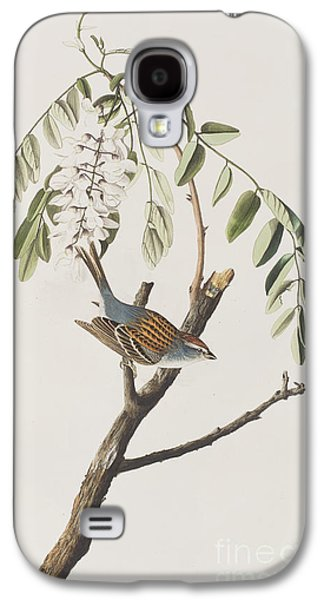 Chipping Sparrow Galaxy S4 Case by John James Audubon