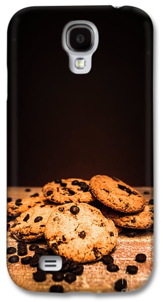 Choc Chip Biscuits Galaxy S4 Case by Jorgo Photography - Wall Art Gallery