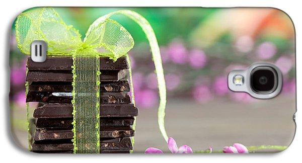Pieces Galaxy S4 Cases - Chocolate Galaxy S4 Case by Nailia Schwarz
