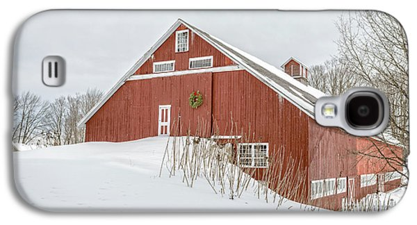Christmas Barn Galaxy S4 Case