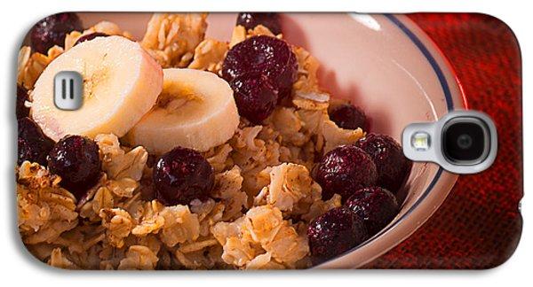 Christmas Oatmeal Breakfast Galaxy S4 Case by Donald Erickson