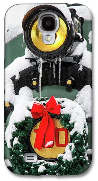 Christmas Train At Pacific Junction Galaxy S4 Case