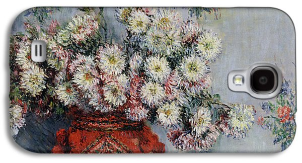 Chrysanthemums Galaxy S4 Case by Claude Monet