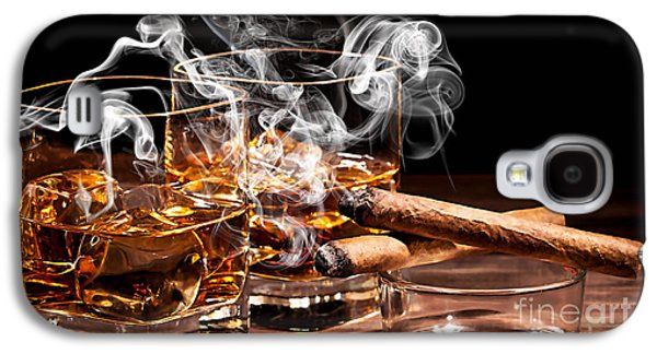 Cigar And Alcohol Collection Galaxy S4 Case