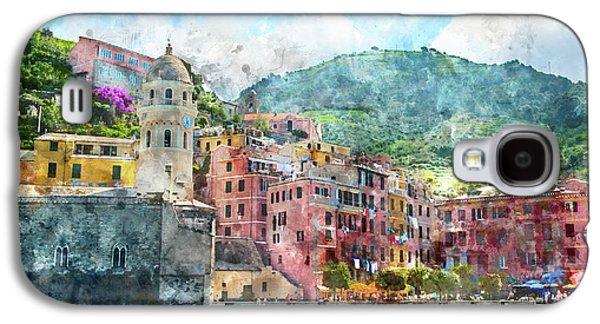Cinque Terre Italy Galaxy S4 Case