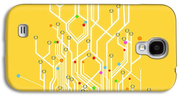 Circuit Board Graphic Galaxy S4 Case