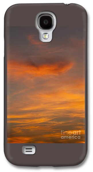 Cirrus Clouds At Sunset Galaxy S4 Case
