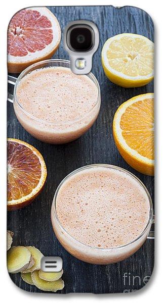 Citrus Smoothies Galaxy S4 Case by Elena Elisseeva