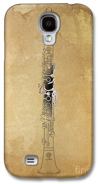 Clarinet 21 Jazz B Galaxy S4 Case by Pablo Franchi