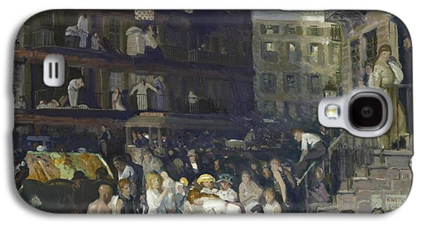 Cliff Dwellers Galaxy S4 Case by George Wesley Bellows