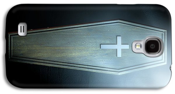 Coffin And Crucifix Galaxy S4 Case by Allan Swart