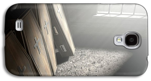 Coffin Row In A Room Galaxy S4 Case