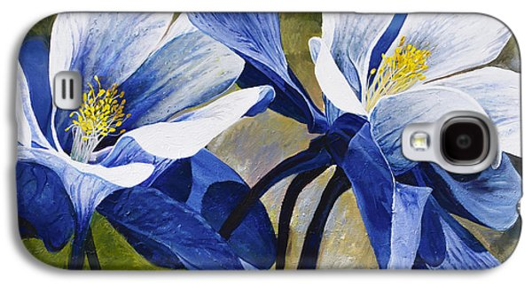 Colorado Columbines Galaxy S4 Case by Aaron Spong