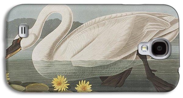 Common American Swan Galaxy S4 Case by John James Audubon