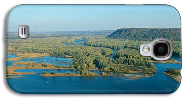 Confluence Of Mississippi And Wisconsin Galaxy S4 Case