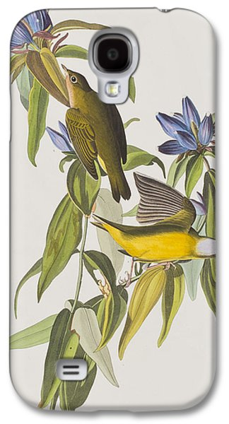 Warbler Galaxy S4 Case - Connecticut Warbler by John James Audubon