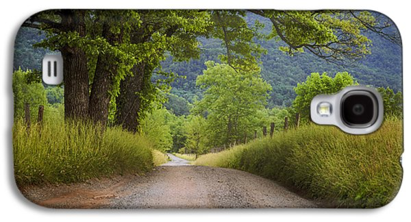 Country Lane In The Smokies Galaxy S4 Case by Andrew Soundarajan
