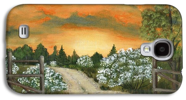 Country Road Galaxy S4 Case by Anastasiya Malakhova