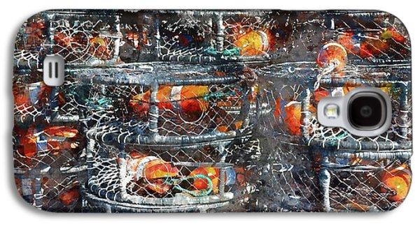 Crab Pots Galaxy S4 Case by Brandon Bourdages