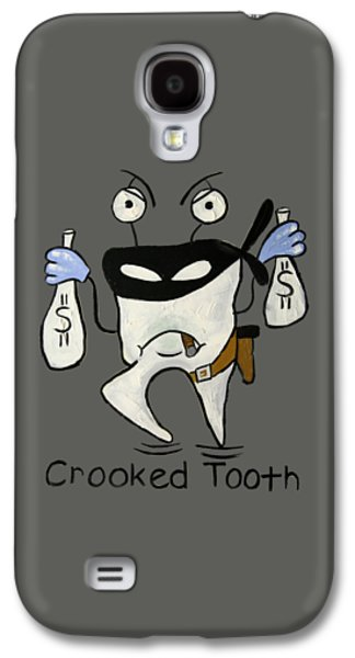 Crooked Tooth Galaxy S4 Case by Anthony Falbo
