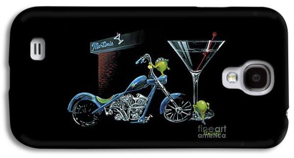 Martini Galaxy S4 Case - Custom Martini by Michael Godard