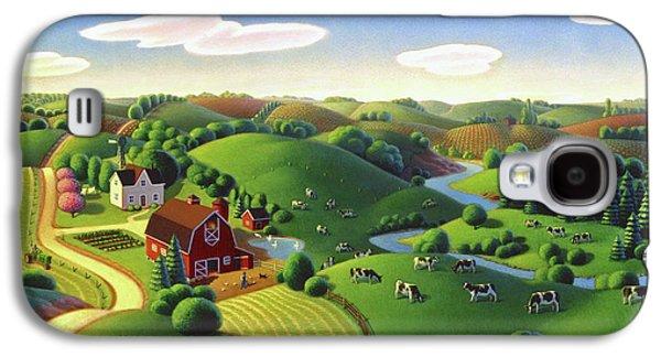Dairy Farm  Galaxy S4 Case by Robin Moline