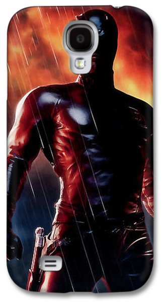 Daredevil Collection Galaxy S4 Case by Marvin Blaine