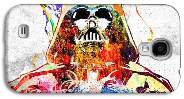 Darth Vader Grunge Galaxy S4 Case