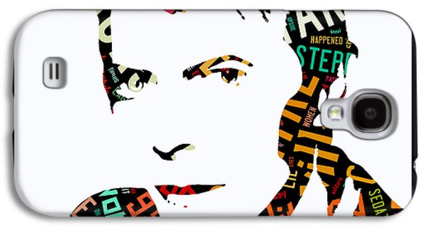 David Bowie Blackstar Lyrics Galaxy S4 Case