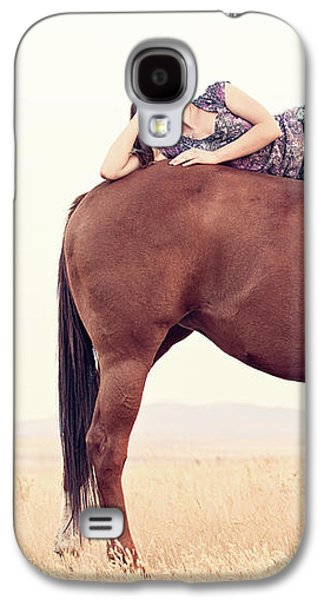 Daydreaming On A Horse Galaxy S4 Case by Debi Bishop