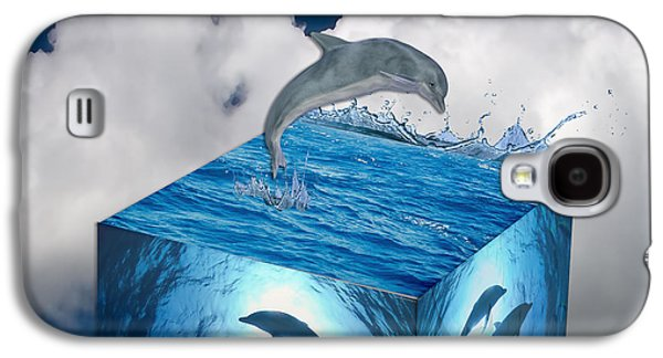 Dolphin Galaxy S4 Case