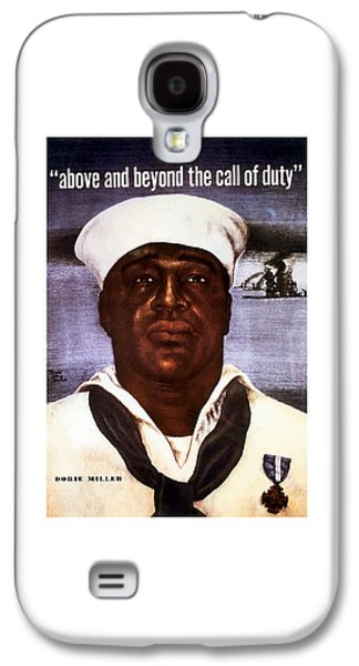African-american Galaxy S4 Case - Dorie Miller - Above And Beyond by War Is Hell Store