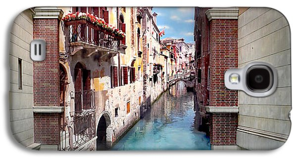Dreaming Of Venice Panorama Galaxy S4 Case by Az Jackson
